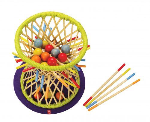 pallina behendigheidsspel bamboe