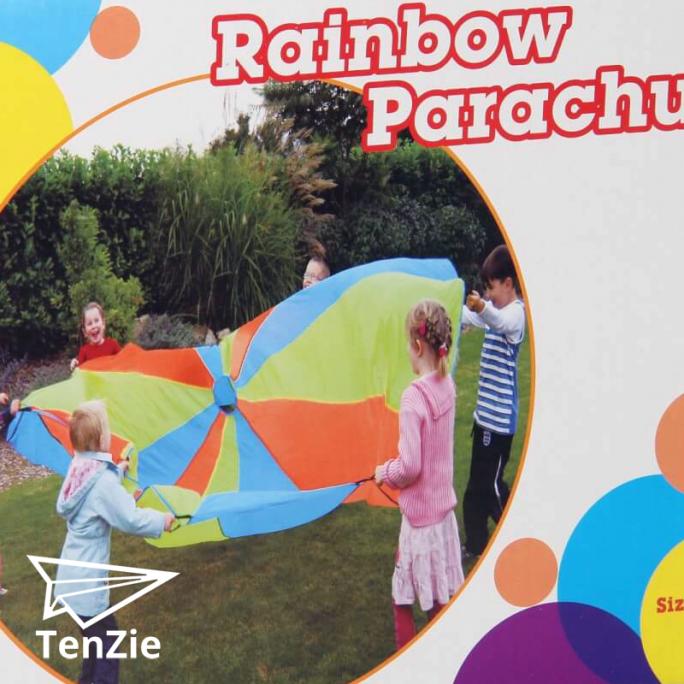 evenwicht-spelmateriaal-regenboog-parachute