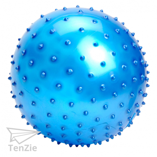 voelen-materiaal-massagebal-15-cm-blauw