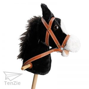 tenzie-webshop-horen-spelmateriaal-stokpaard-eenhoorn-pluche-met-geluid-zwart-01