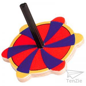 tenzie-webshop-spelmateriaal-houten-rood-geel-blauw-tol-speelgoed