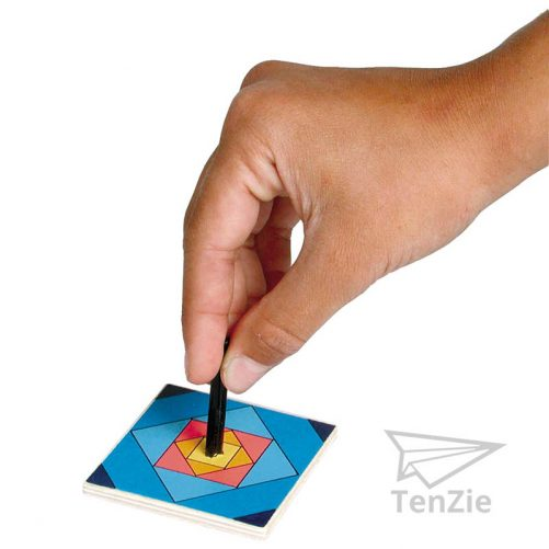 tenzie-webshop-spelmateriaal-houten-rood-geel-blauw-vierkant-tol-speelgoed