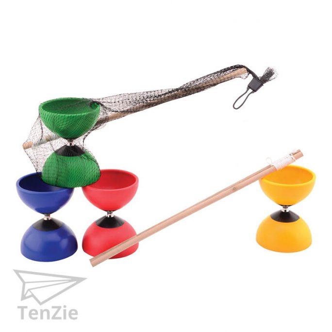 diabolo-kleur-houten-stokjes-spelmateriaal-tenzie-winkel
